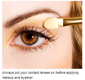 Contactlens Makeup